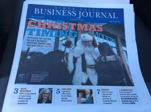 Matthew Stoffel Christmas Timing Sioux Falls Business Journal